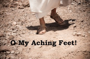 O My Aching feet
